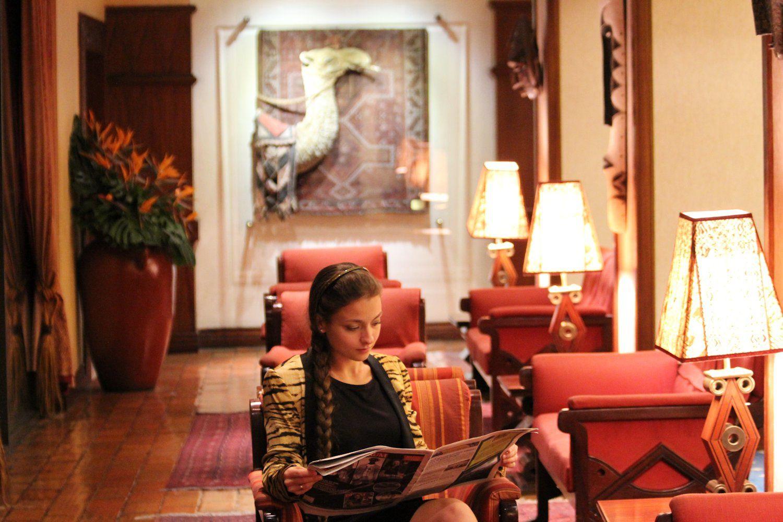 Nairobi Serena Hotel, November 2012