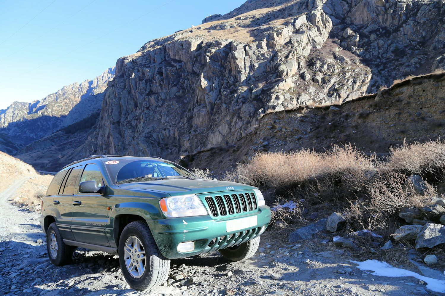 Our Jeep test drive in Caucasian mountains