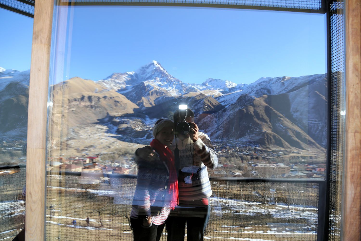 Our winter trip to Kazbegi