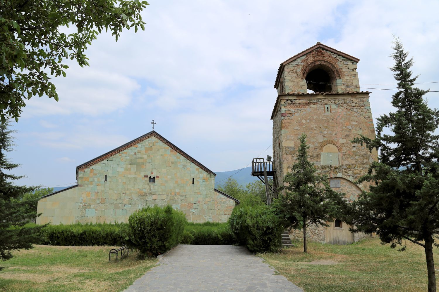 Bolnisi Sioni Cathedrl and the bell-tower