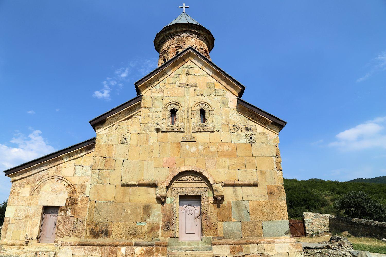 Decorations of Tsughrughasheni Church