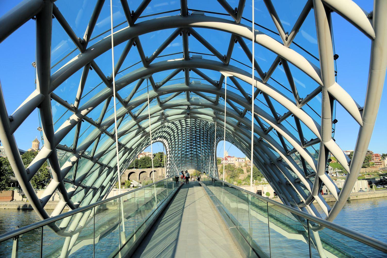The Bridge of Peace views