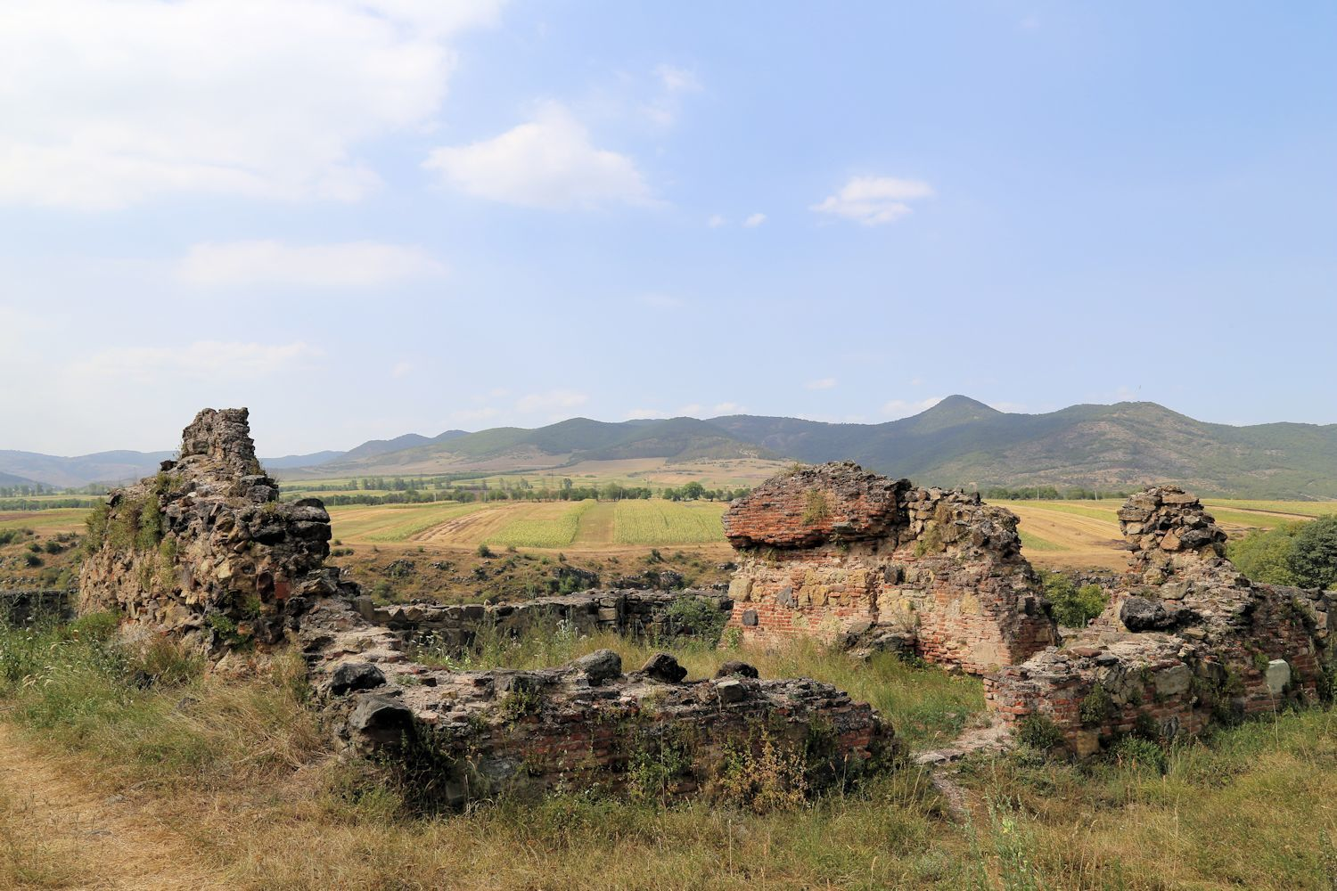 Medieval remains in Dmanisi Maseun - Reserve