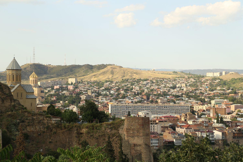 Tbilisi Botanical Garden in summer