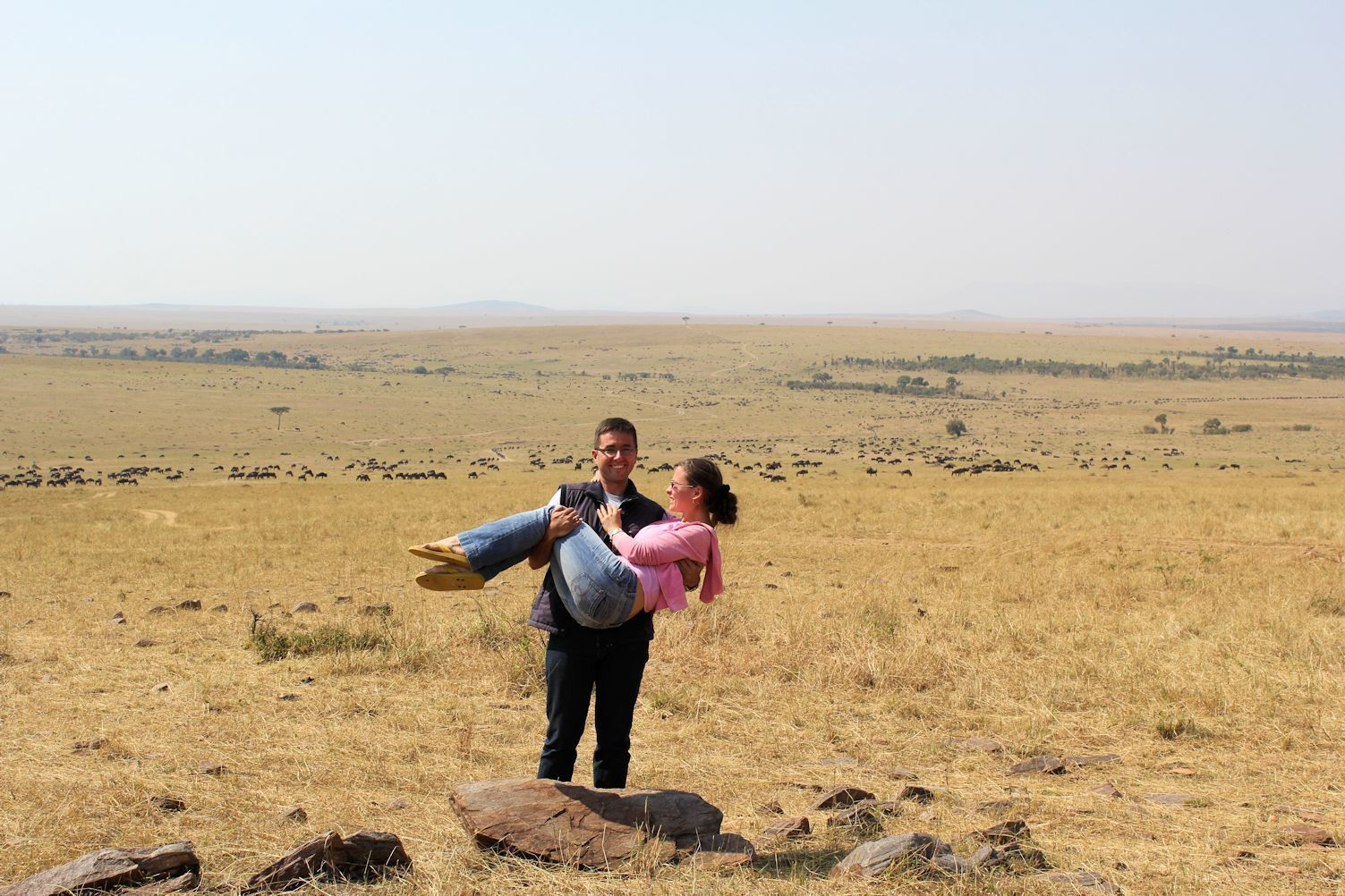 Maasai Mara in Kenya, July 2013