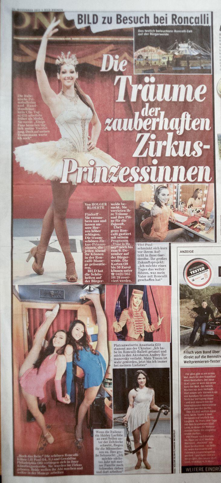 Bildzeitung, 26.11.2012