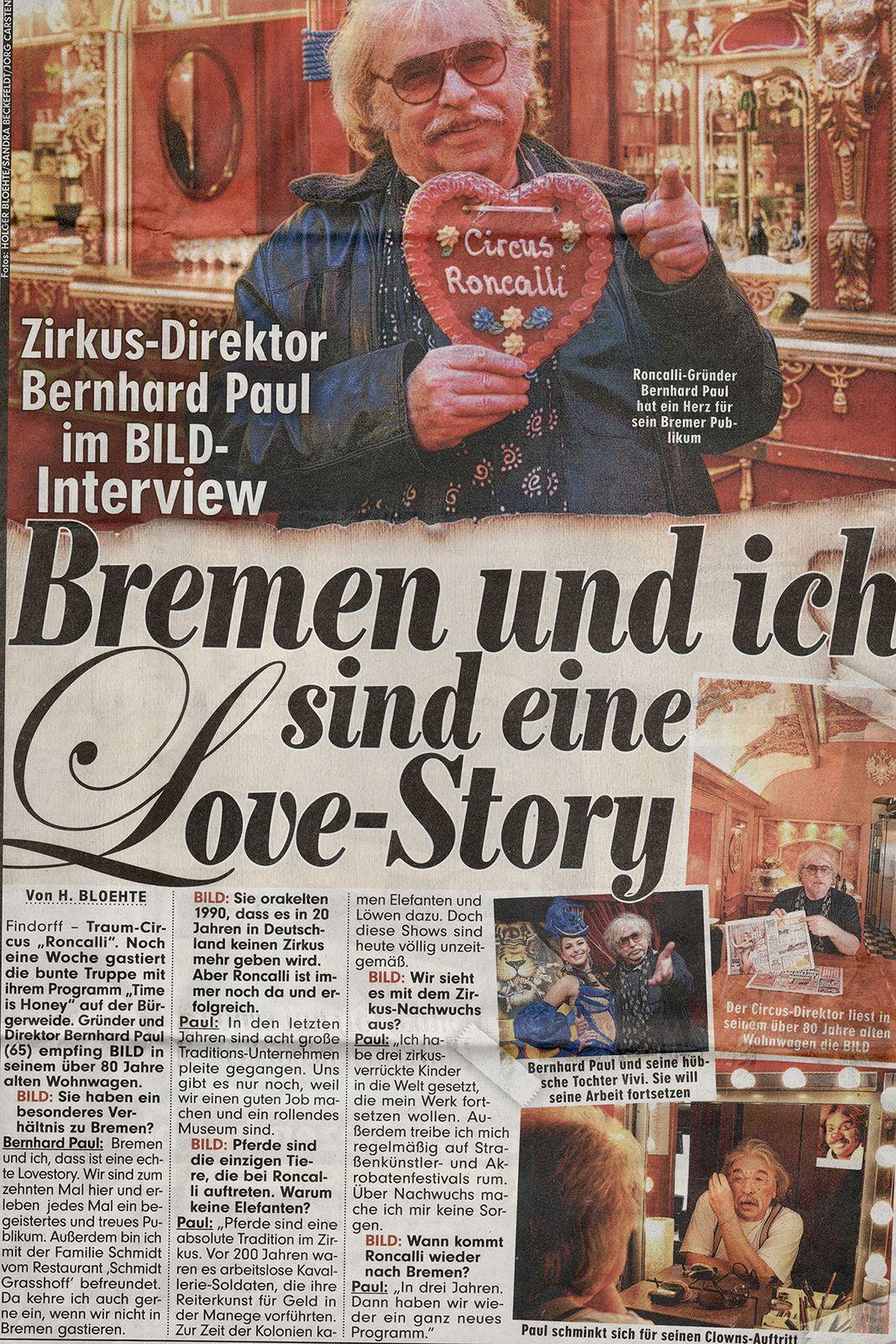 Bildzeitung, 3.12.2012