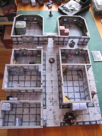 Table de jeu INFINITY - Intérieur de Vaisseau (suite)