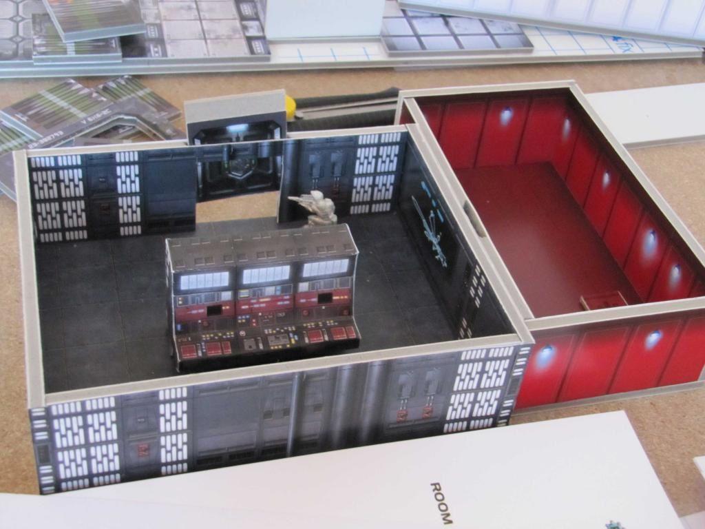 Une salle de contrôle