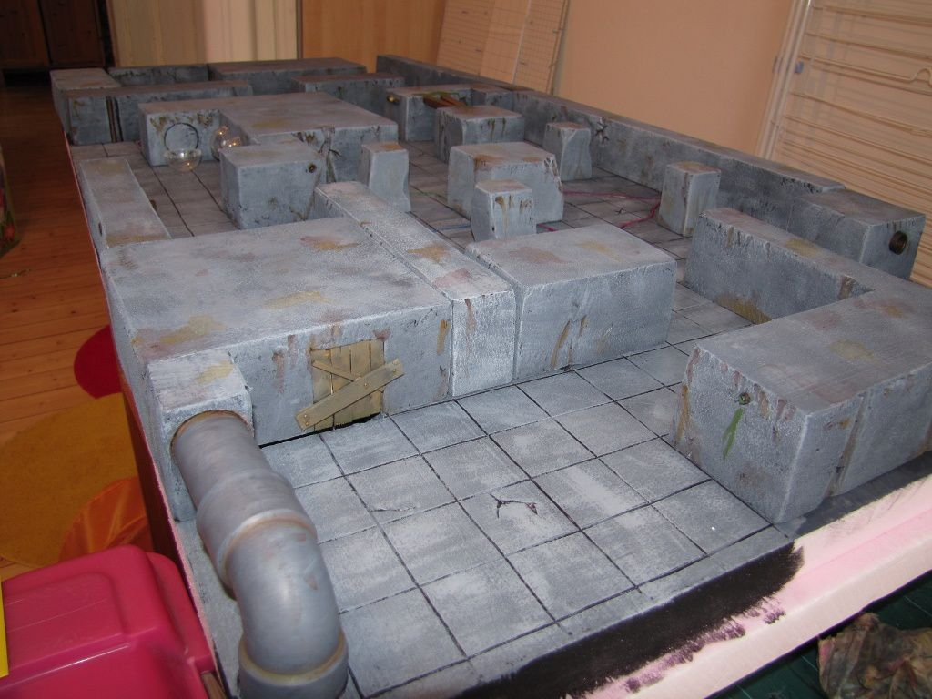 Table de jeu pour HYBRID (ou Incursion....)