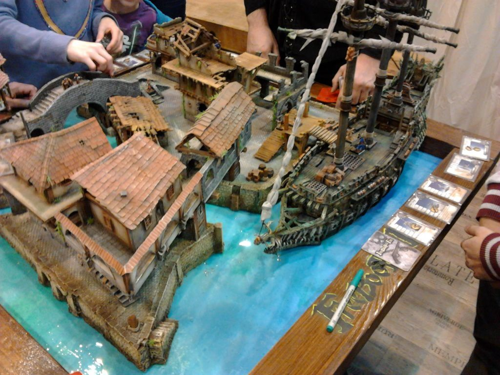 "Un port de pirates pour ""Freeboter's Fate"""