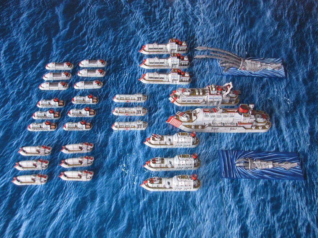 Photo de famille des troupes navales !