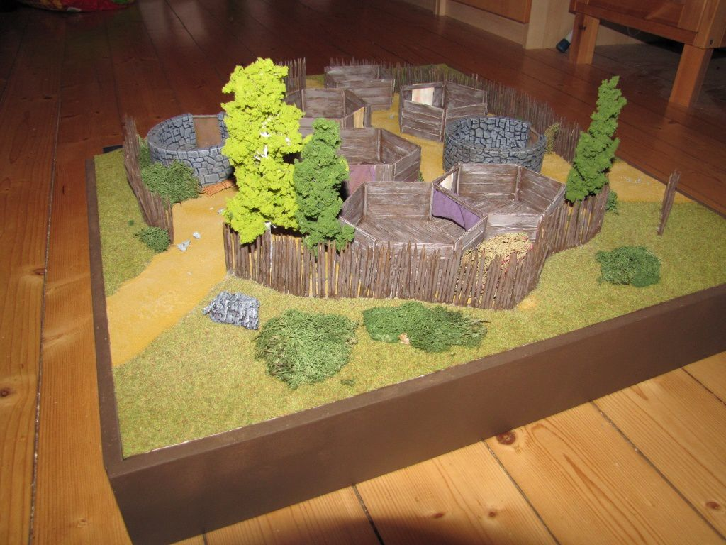 Le Village Picte - Table 3D (Partie 2)