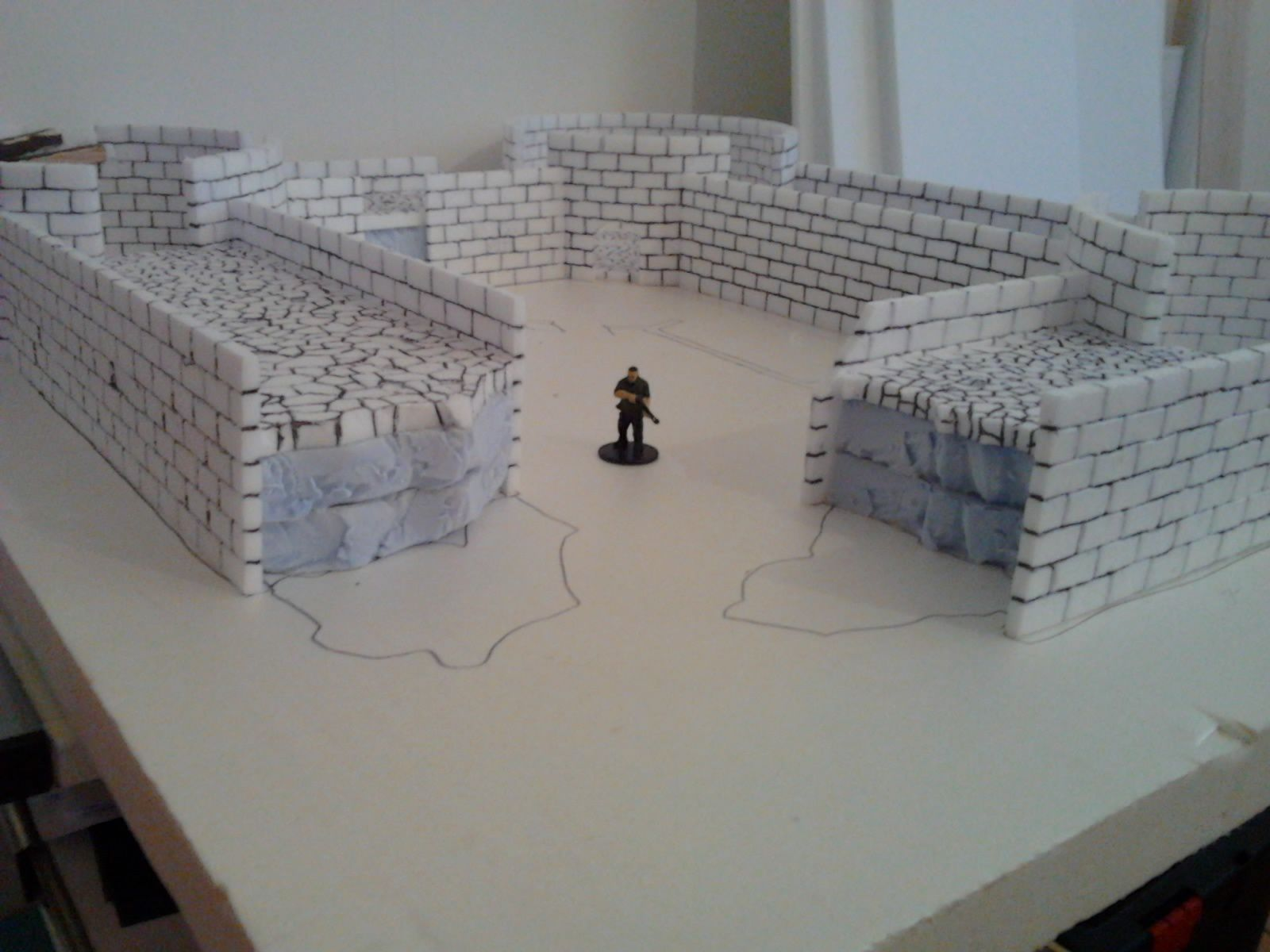 CONAN - Le Fortin - Table 3D