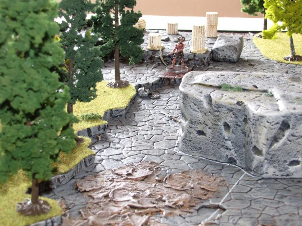 MYTHIC BATTLES : PANTHEON - Table 3D (suite et fin)