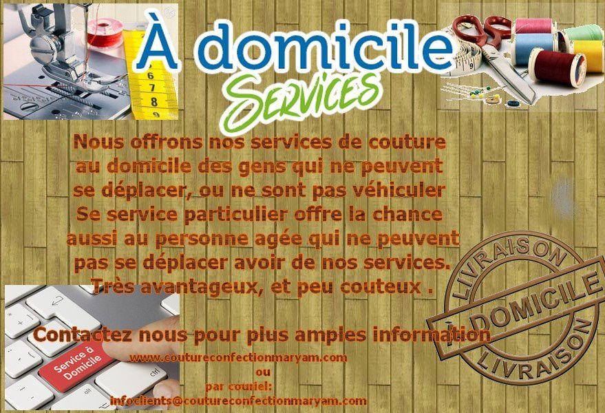 Service au domicile