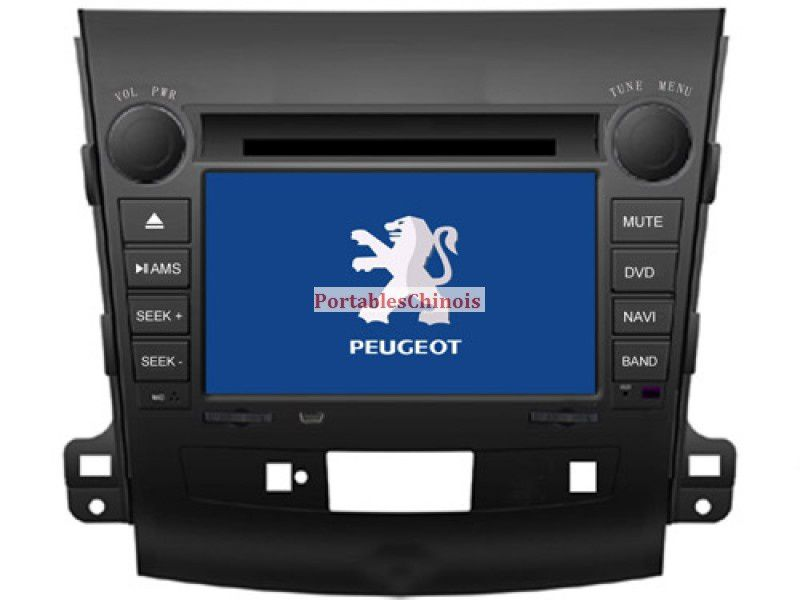 autoradio dvd gps peugeot 4007 avec ecran tactile. Black Bedroom Furniture Sets. Home Design Ideas