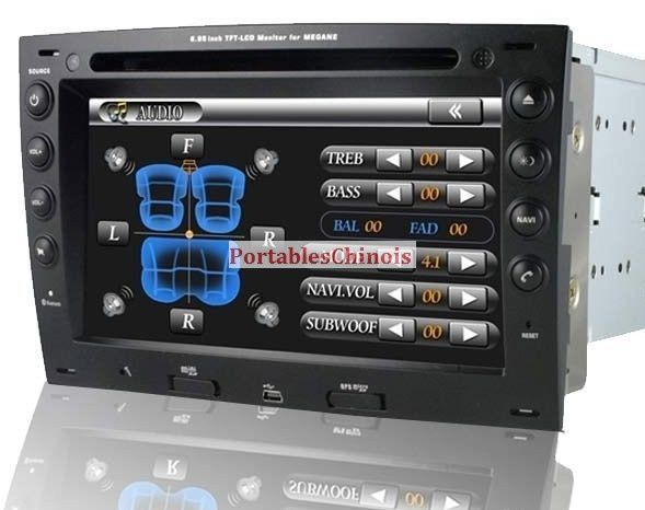 achater autoradio dvd gps renault megane ii et iii pas. Black Bedroom Furniture Sets. Home Design Ideas