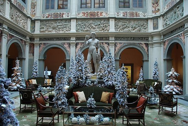 Lobby del Four Seasons Hotel Firenze