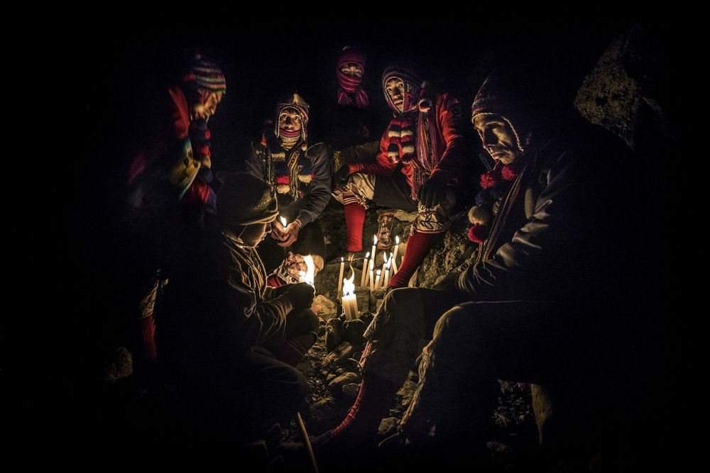 Timothy Allen/www.tpoty.com Sinakara, Peru Each year thousands of pilgrims travel to the Sinakara Valley, 15,000ft up in the Peruvian Andes to celebrate the festival of Quyllur Rit'i.