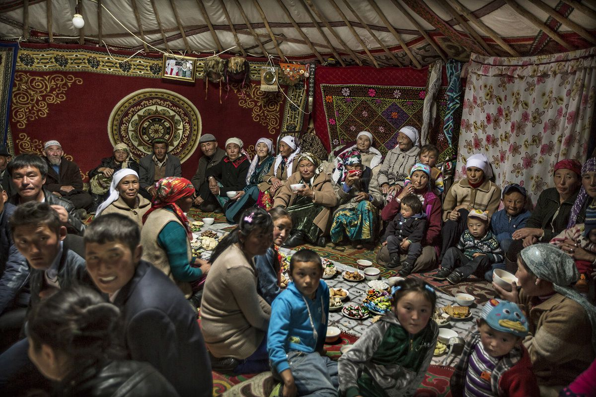 Faces, People, Encounters Runner-up Timothy Allen (UK)  Western Mongolia Kazakh wedding season in the Altai Mountains.