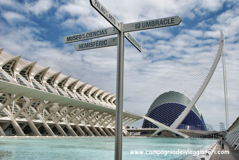 Valencia, la Città delle Arti e delle Scienze