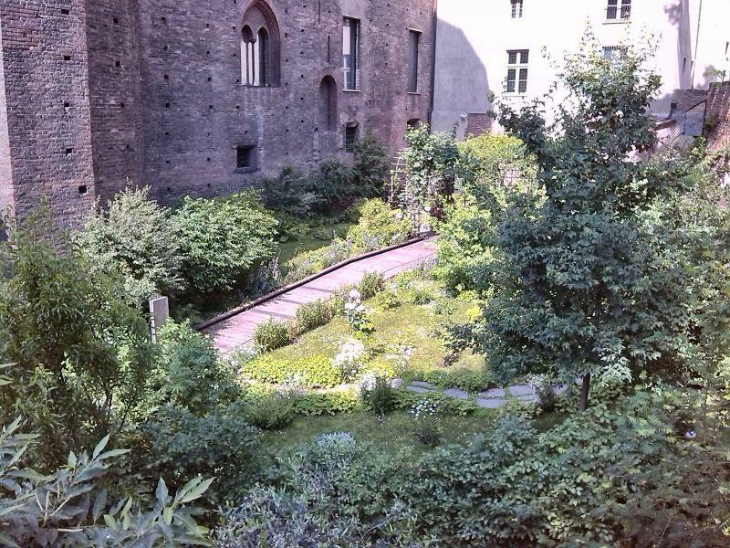 Torino, il Giardino del Principe a Palazzo Madama