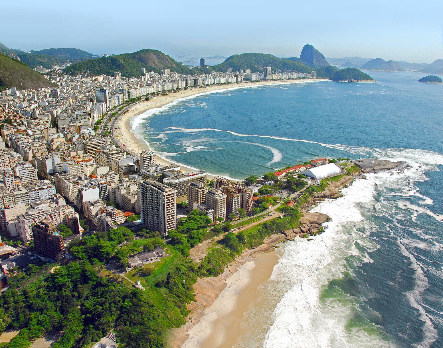 Rio 2016 - le spiagge di Rio