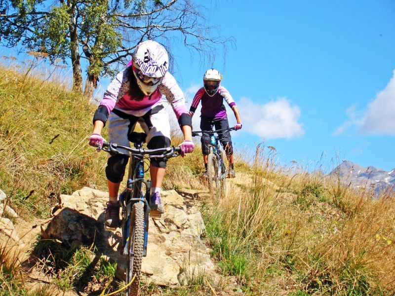 Mountain-bike a Les2Alpes