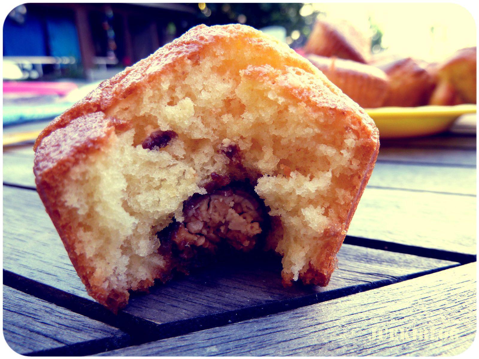 Muffin au coeur de chocobon