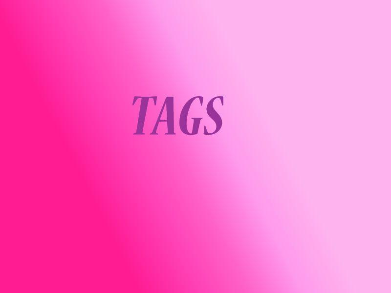 Un petit tag :)