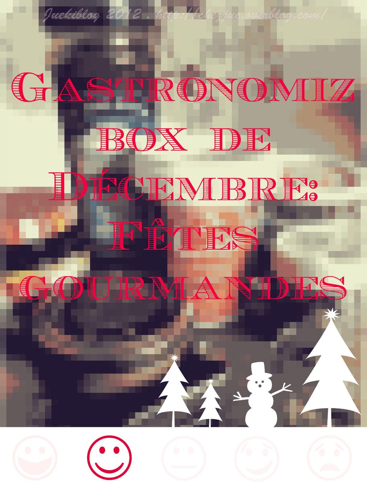 La gastronomiz box de décembre, on prépare des fêtes gourmandes