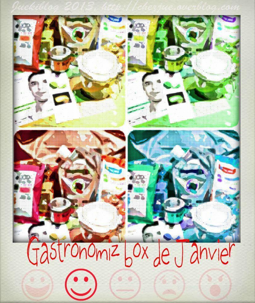 Avec la Gastronomiz Box® de Janvier  les bonnes résolutions sont dans l'assiette.