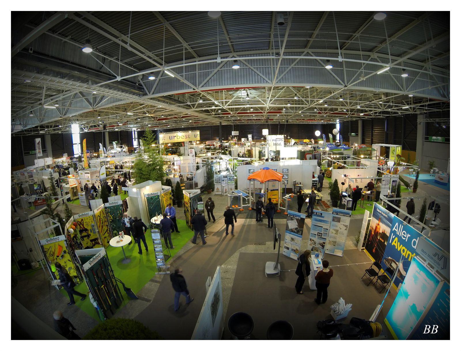 Urbest 2014  Le salon Professionnel pour l'espace public Metz Expo