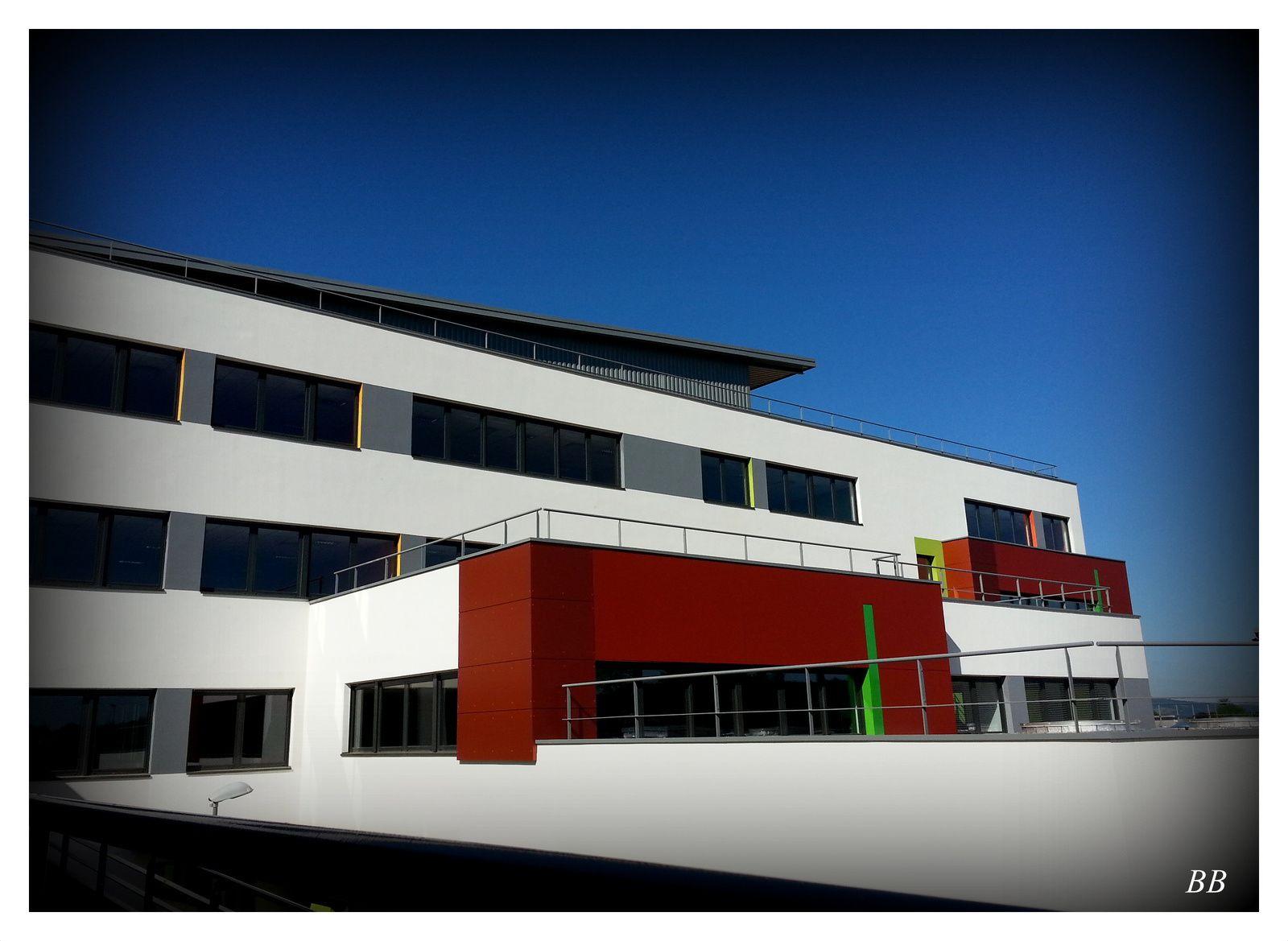 Collège Nelson Mandela de VERNY inauguration le 2 septembre 2014