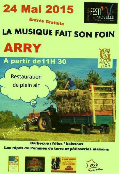 Arry La musique fait son foin le 24 mai 2015