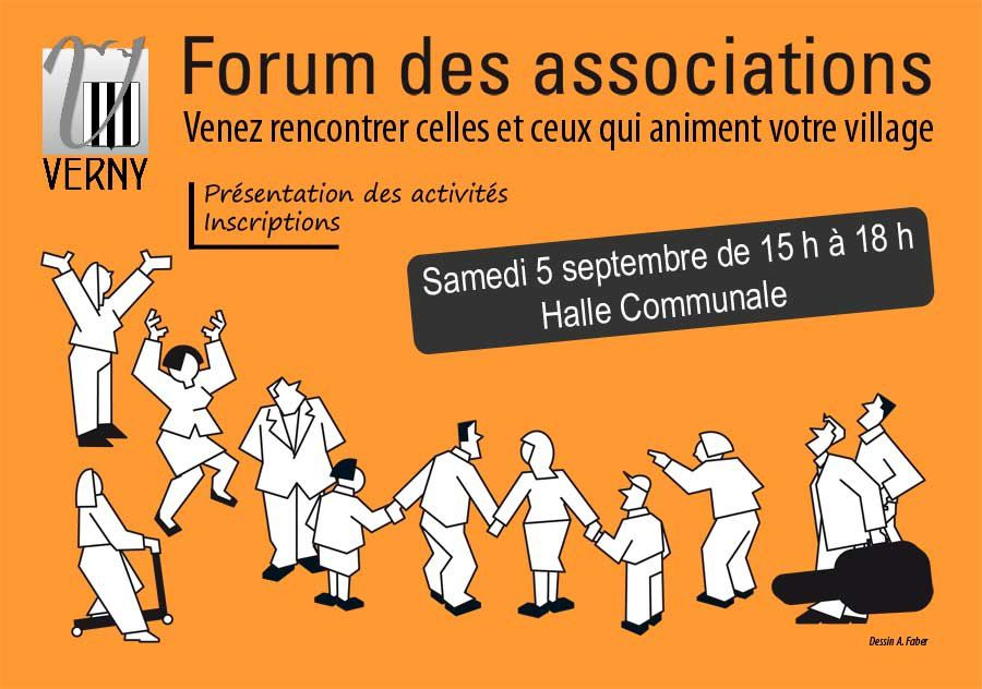 Verny Forum des associations le samedi 5 septembre