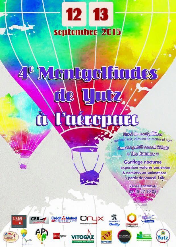 Yutz 4è Montgolfiades les 12 et 13 septembre