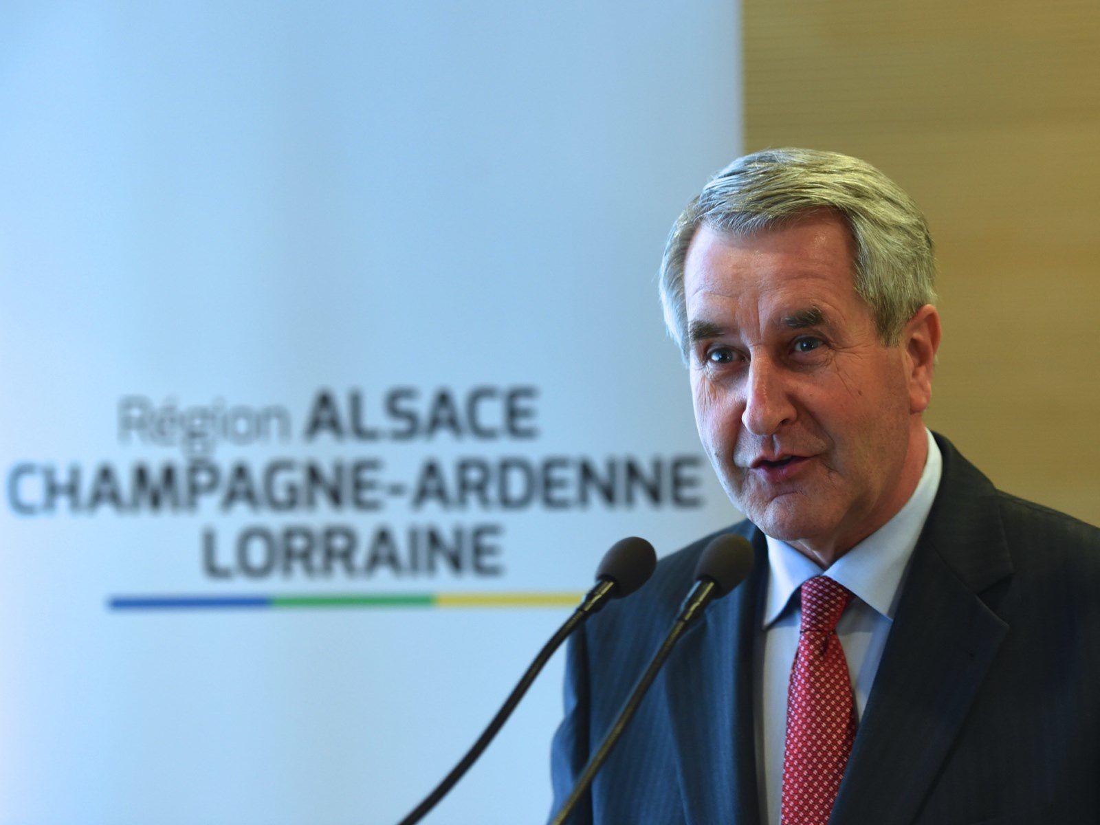 Région Alsace Champagne-Ardenne Lorraine Philippe RICHERT présente ses vœux à la presse