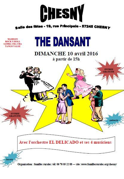 Chesny The Dansant Le dimanche 10 avril