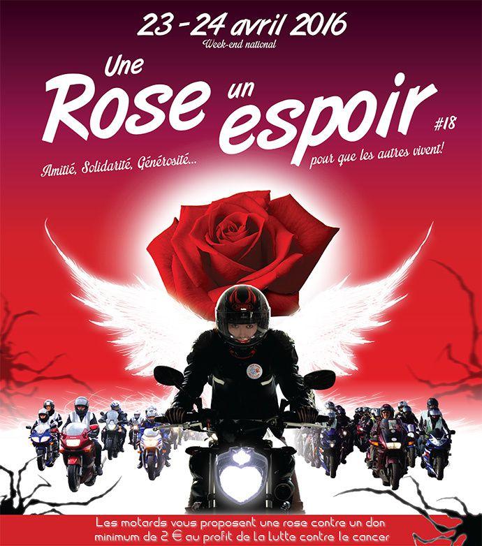 Une Rose Un Espoir 2016 vidéos et photos de l'opération