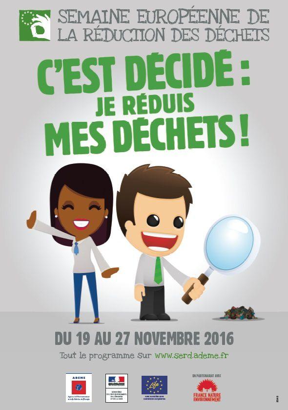 Grand Est Semaine Européenne de la Réduction des Déchets  du 19 au 27 novembre 2016
