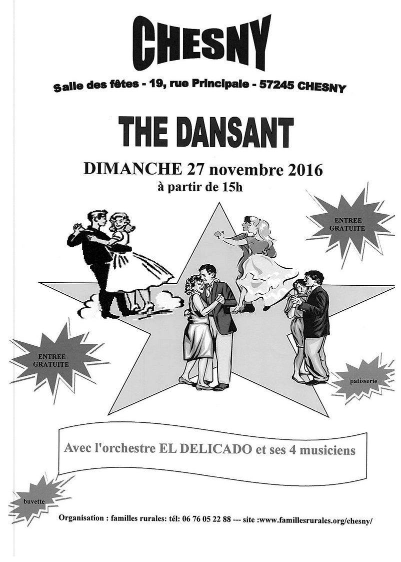 Chesny Thé dansant le 27 novembre 2016