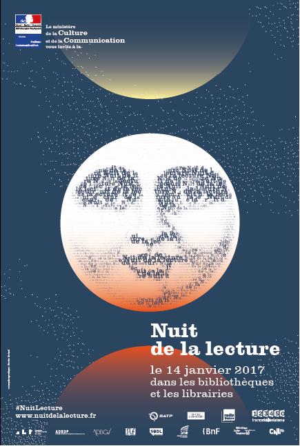 Nuit de la lecture  le 14 janvier 2017