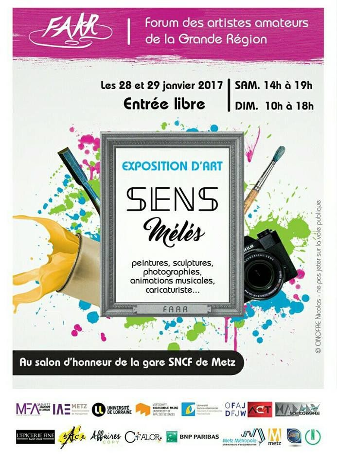 Metz Exposition FAAR les 28 &amp&#x3B; 29 janvier 2017
