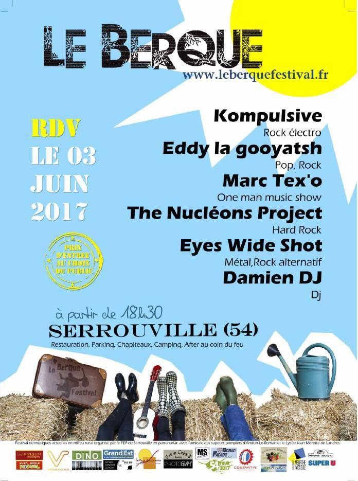 Serrouville Le Berque Festival, le 3 juin