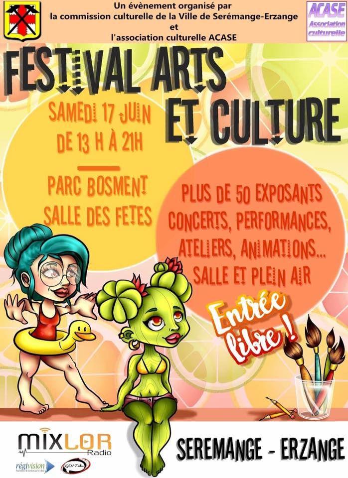 Sérémange-erzange 4ème édition du &quot&#x3B;Festival &quot&#x3B;Arts et culture&quot&#x3B; le 17 juin