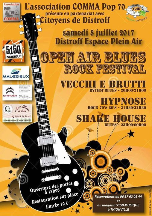 Distroff Open Air Blues Rock Festival le 8 juillet