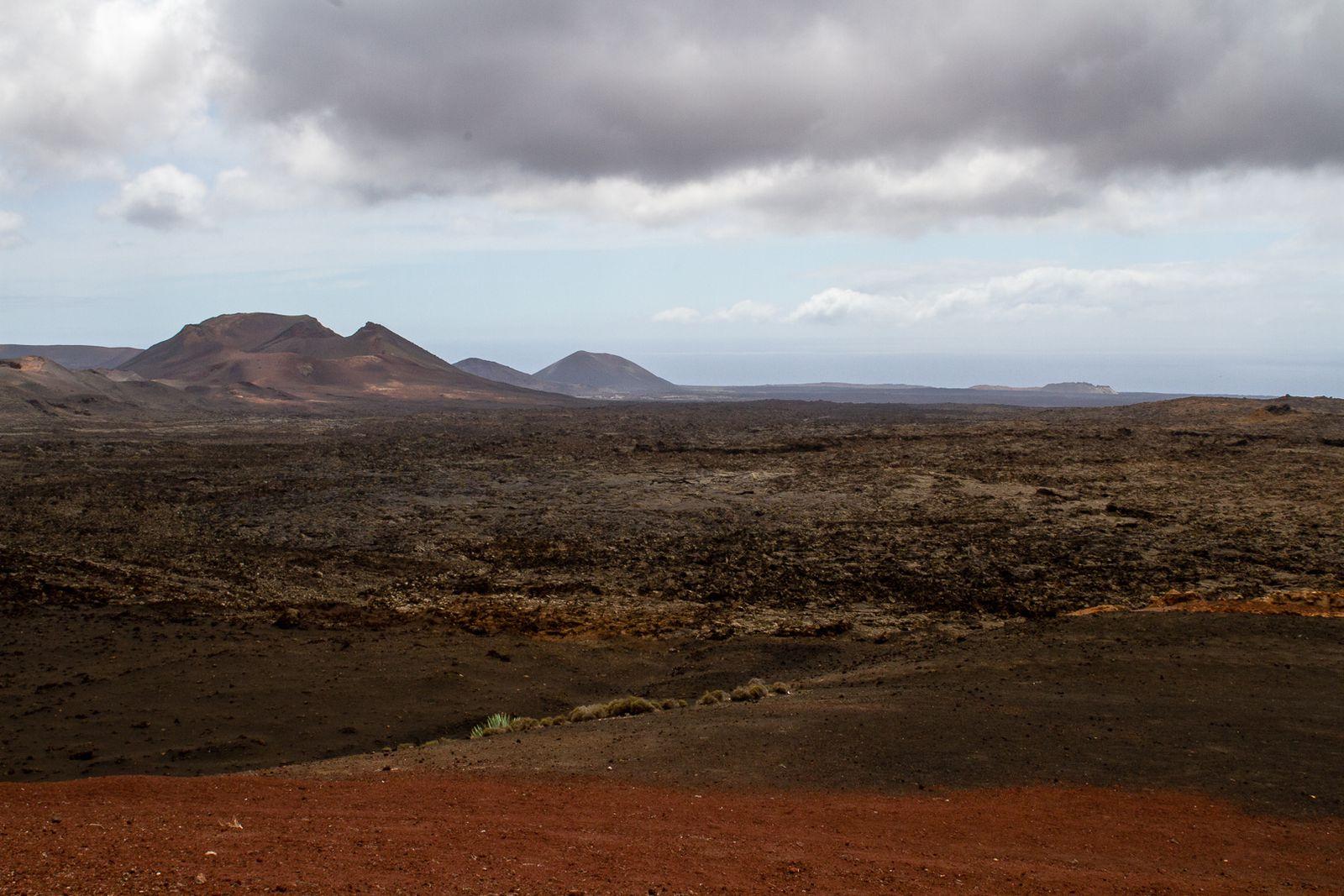 Le parc national de Timanfaya, constitue une réserve de biosphère de l'Unesco.