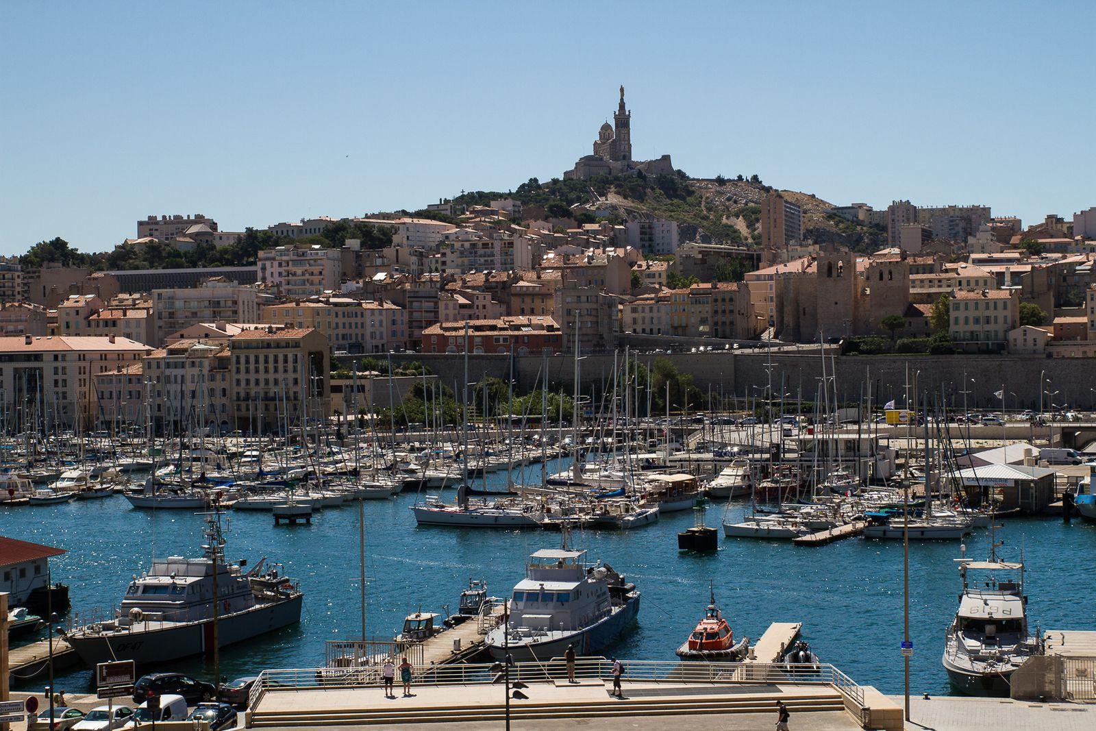 Marseille, Le Vieux Port, Le quartier du Panier